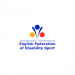 A partner logo: English Federation of Disability Sports