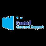 A partner logo: Castell Care Homes