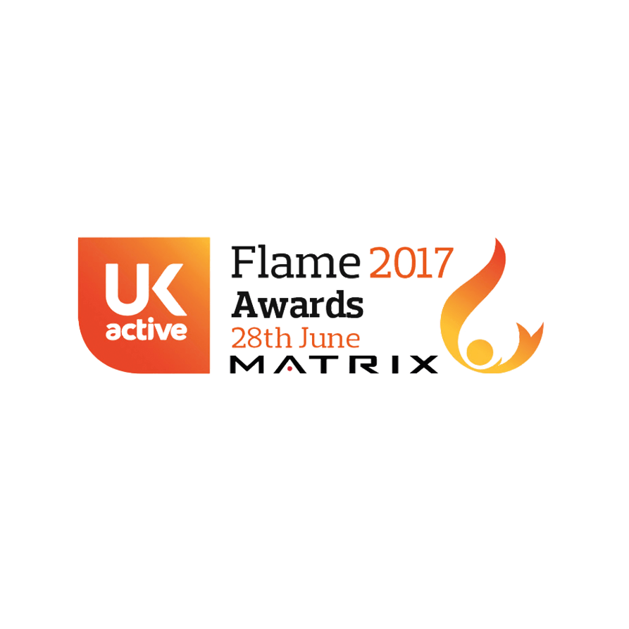 UK Active and Matrix Flame Awards 2017 Logo