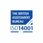The British Assessment Bureau ISO14001 accreditation logo