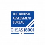 The British Assessment Bureau OHSAS18001 accreditation logo