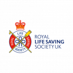 A partner logo: Royal Life Saving Society UK