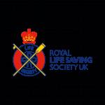 A partner logo: Royal Life Saving Society UK